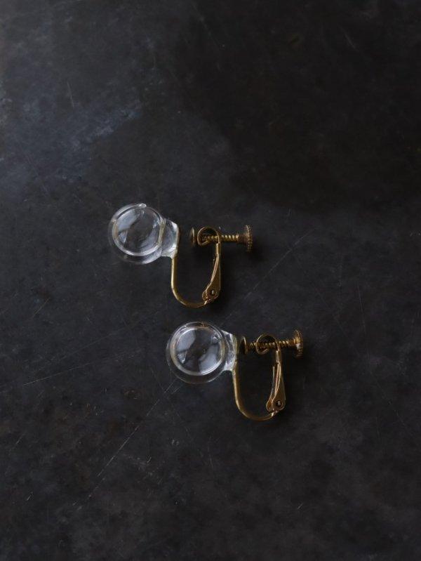 涙ガラス製作所 耳朶の水平線 イヤリングS