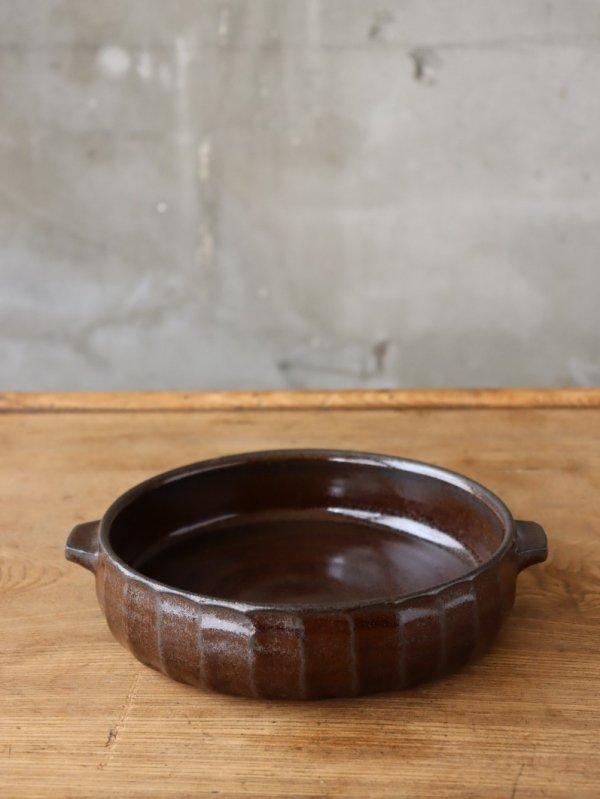 城進 耐熱楕円鉢 中