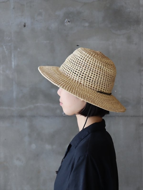 PALM KNOTTED HAT ROUND