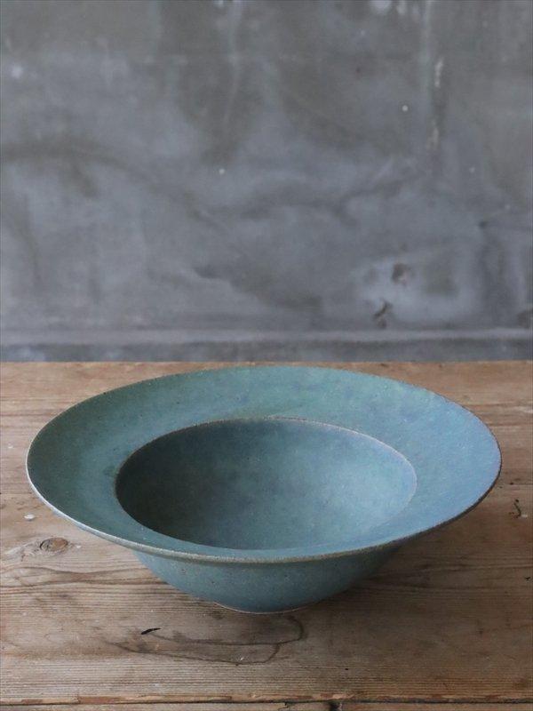 錆枝 soup bowl 緑青