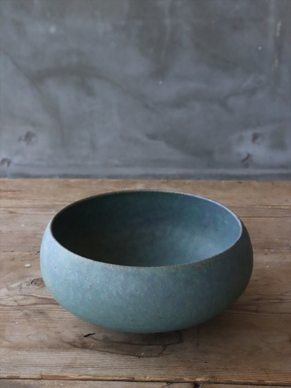 錆枝 bowl 緑青