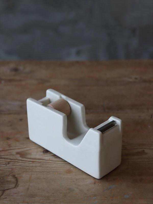 白磁 テープカッター S