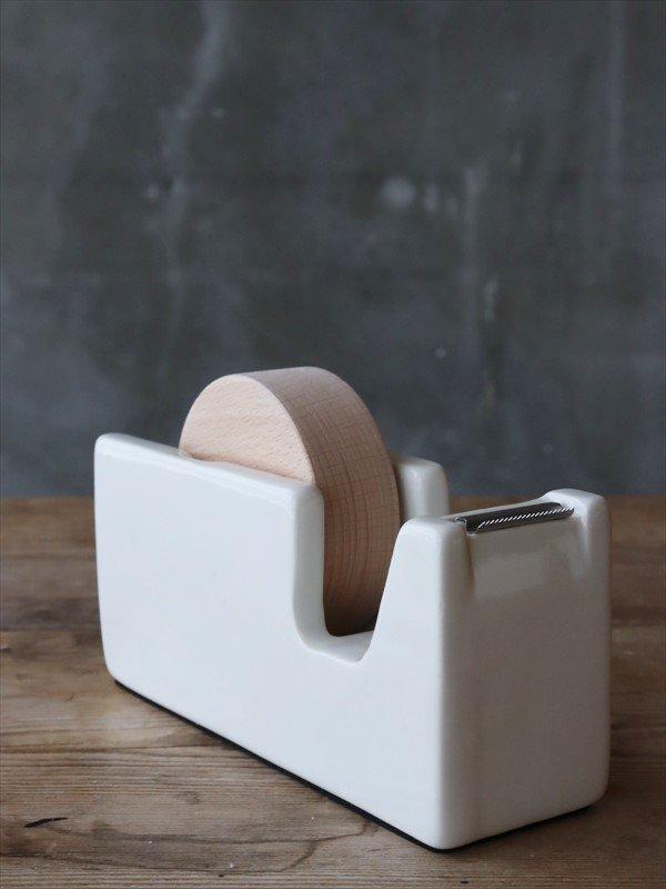 白磁 テープカッター L