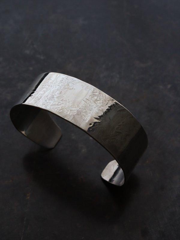 accessories mau  平打ちsilver bangle(2cm)