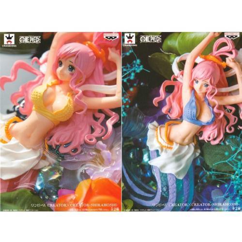 【10月予約】ワンピース CREATOR × CREATOR SHIRAHOSHI(しらほし姫) 全2種セット