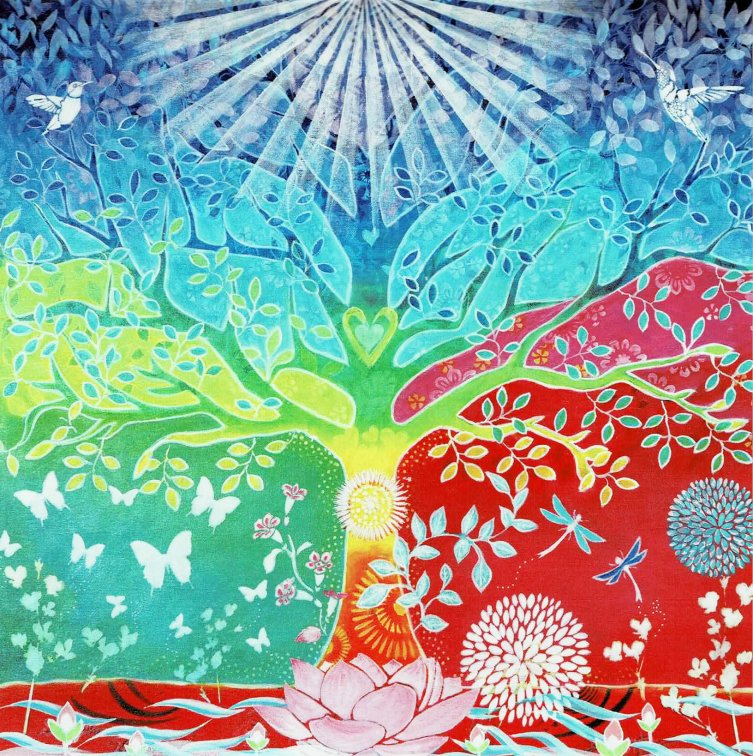 Jasminacia Healing Art  【 Tree of Life 】