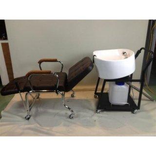 CB-602  シャンプーヘルパー + 多目的手動シャンプー椅子   (HB)