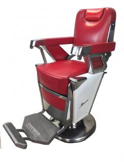 RB-055-16 タカラベルモント製 理容椅子 57号{シート張替え込み} 在庫1 (HB