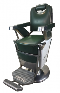 RB-056-16 タカラベルモント製 理容椅子 57号{シート張替え込み} 在庫1 (HB