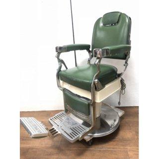 EC-203-16 クラサワ製 理容椅子 シート張替込 在庫数 2(HB)