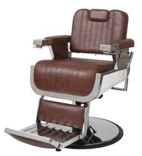 EC-235-04 理容椅子OLDEST-S(オールデスト エス)  オールドブラウン(HB)