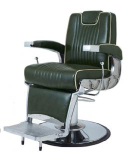 EC-237-04 理容椅子OLDEST-DX(オールデスト デラックス) グリーン(HB)