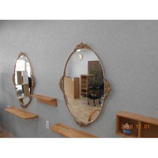 G-752-16 レトロな鏡 在庫数3(YN)