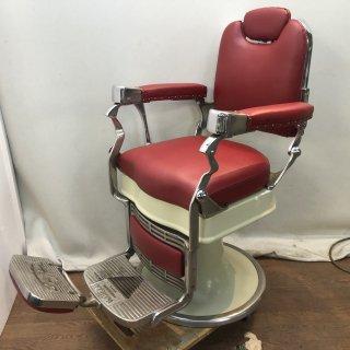 EC-714-16 ISHIDA理容椅子 昇降機能付き(シート張替え込み)  在庫1台 (HB)
