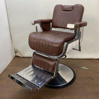 EC-765-04 理容椅子OLDEST-S(オールデスト エス)  オールドブラウン 在庫2台(HB)