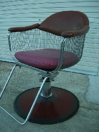 BB-560-16 タカラ製 レトロ椅子【シート張替え込み】 在庫数 1 (HB)