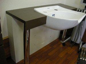 EB-628-16 展示品 1連セット オリジナル前洗面 キャロル  在庫数 1(HB)