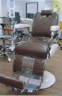 RB-007-10 再生品 タカラベルモント製 理容椅子 54号 (HB)