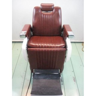 EA-568-10 再生品 タカラベルモント製品 理容椅子 タイプ879(HB)
