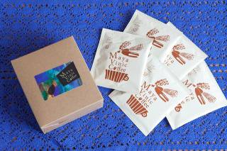 【専用箱入り】◆メキシコ産マヤビニック◆少量直火焙煎による本格ドリップパックコーヒー(10g×5袋)