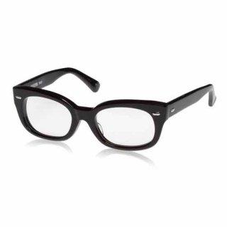 EFFECTOR (エフェクター) メガネフレーム fuzz(ファズ) Col.BK(ブラック) エフェクターのメガネフレームで定番の黒ぶちメガネ 伊達メガネにオススメ