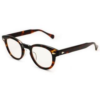 TART OPTICAL ARNEL(タート オプティカル アーネル) JD-55 46□24サイズ col.004 Demi amber 1955年にジェームズディーンが愛用したメガネを忠実に復刻