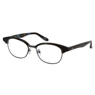 増永眼鏡(マスナガメガネ) メガネフレーム GMS-31R #25 BLUE DEMI(ブルーデミ) 人気のGMS-31がリニューアル