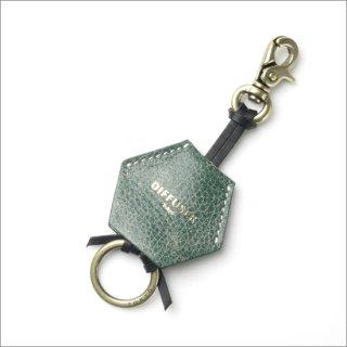 DIFFUSER (ディフューザー)  グラスホルダー(メガネチェーン) CRUSH LEATHER HANGING HOLDER SG1031D Green