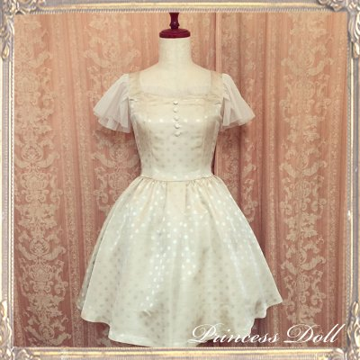 1077-2 Lady Dress(champagne Gold)