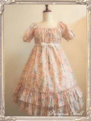 1064-1 Candy flower Baby Doll (Pink)