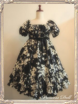 1070-1 Rose Baby Doll(Black)