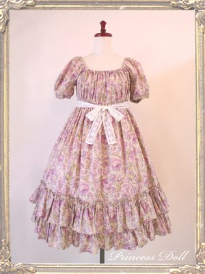 1064-3 Candy flower Baby Doll (Lavender)