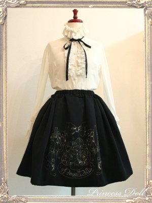 2055-3 10th Skirt(Black)
