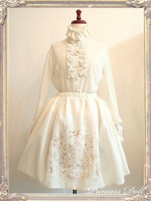 2055-1 10th Skirt(Milk White)