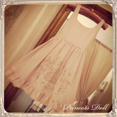 1074-1 10th Little Dress(Pink)