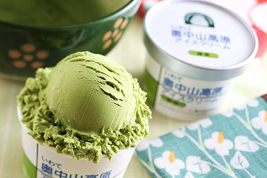 いわて奥中山高原アイスクリーム 抹茶
