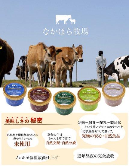 中洞牧場ミルクアイス 抹茶 【 岩手県 】【画像4】