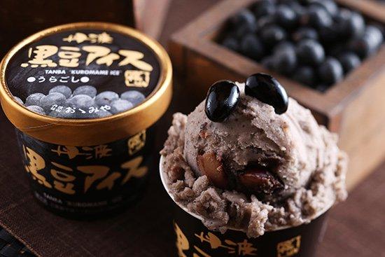 丹波篠山食品 黒豆アイス うらごし 【 兵庫県 】