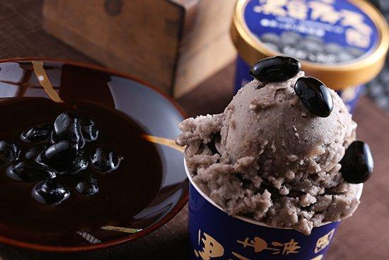 丹波篠山食品 黒豆アイス あっさり