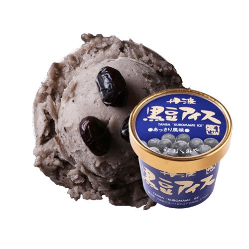 丹波篠山食品 黒豆アイス あっさり【画像2】