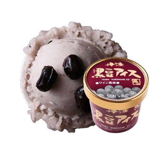 丹波篠山食品 黒豆アイス ワイン風味【画像2】