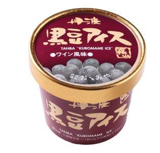 丹波篠山食品 黒豆アイス ワイン風味【画像3】