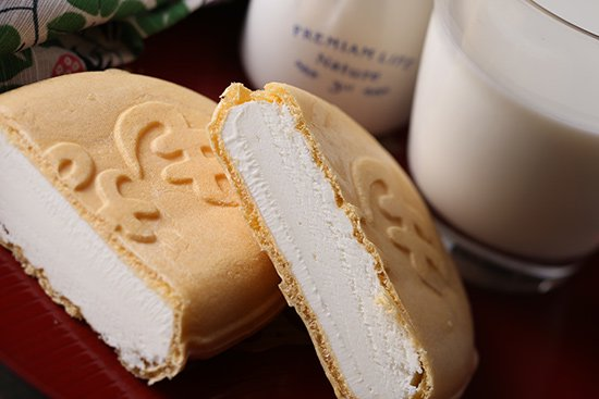 丹波篠山食品 牛乳モナカ 【 兵庫県 】