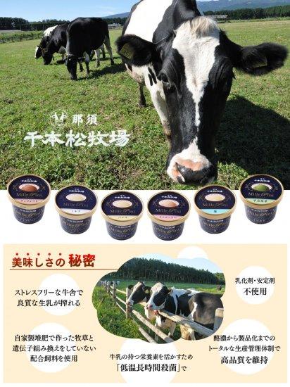 那須千本松牧場ミレピーニ ミルク【画像4】