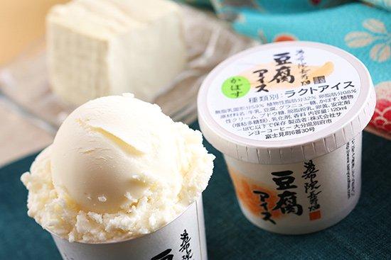 湯布院長寿畑 豆腐アイス かぼす 【 大分県 】