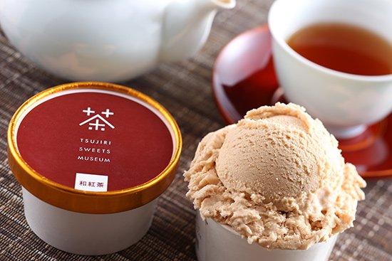 つじり和紅茶アイス