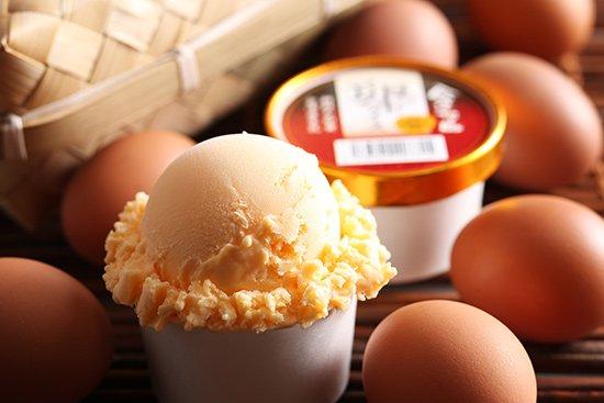 会津地鶏卵アイス