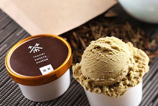 つじり 焙茶 アイス 【 福岡県 】