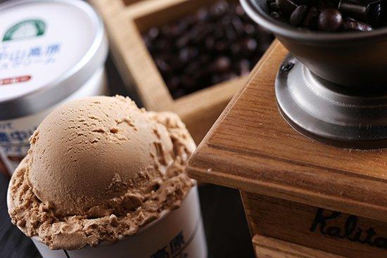いわて奥中山高原アイスクリーム コーヒー