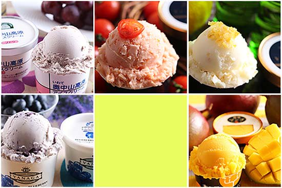 旬 果物アイス 食べ比べ+アイスクリーム専用スプーン セット(5個+1本)【画像2】